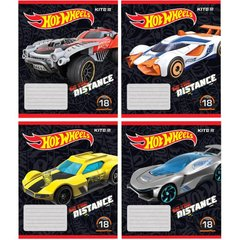 Тетрадь школьная Kite Hot Wheels, 18 листов, в линию, HW19-237